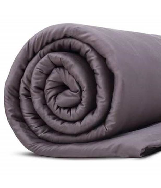 Grey rolled Hush Iced 2.0 Cooling Blanket