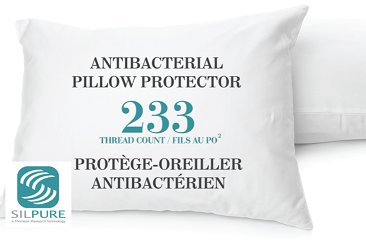 Pillow Protector in packaging