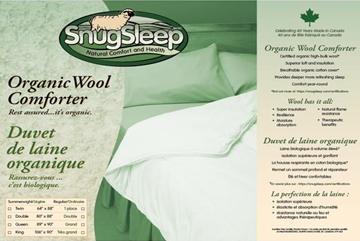 Snug Sleep Organic Wool Comforter Description Sheet